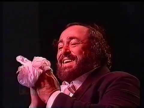 Pavarotti en Uruguay - Vivo-  2da parte (Marzo de 1996)