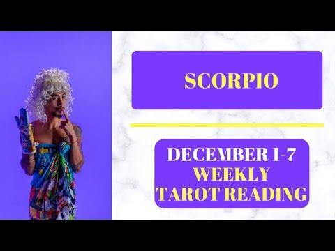 scorpio weekly 15 to 21 tarot card