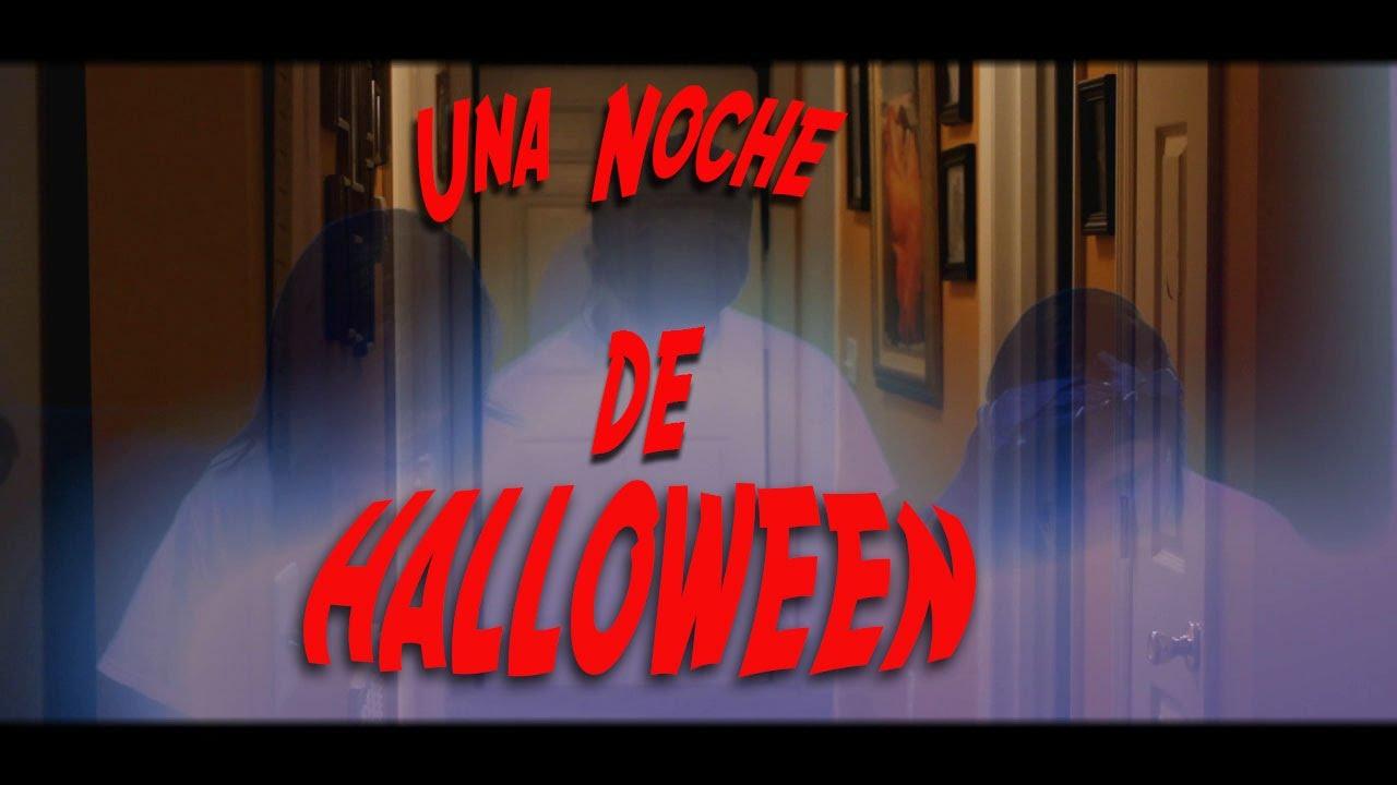 Una noche de Halloween. Terror corto metraje.