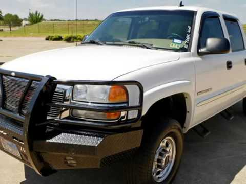 2007 GMC Sierra 2500HD Classic SLT 4x4 With Brushguard And More     2007 GMC Sierra 2500HD Classic SLT 4x4 With Brushguard And More  Fort  Worth  Texas