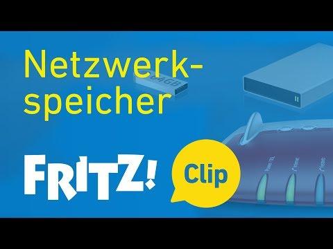 FRITZ! Clip – Die FRITZ!Box als Netzwerkspeicher (NAS)