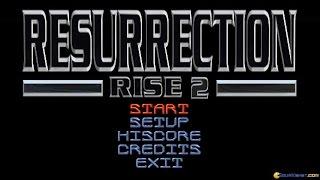 Resurrection: Rise 2 gameplay (PC Game, 1996)