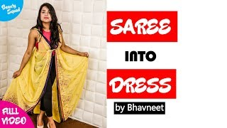 Convert Saree Into Dress by Bhavneet Beauty Squad