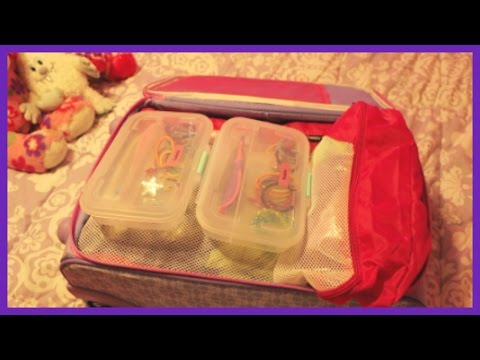 DISNEY CRUISE PACKING - KIDS SUITCASE, Carry On Suitcase for 2 Girls!   beingmommywithstyle