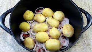 Картошка Вкуснее чем Мясо Пальчики оближешь Ужин не Жарю не ВАРЮ а Оставляю на 2 часа Томится