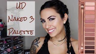 UD NAKED 3 PALETTE TUTORIAL: Quick Daytime Rose Gold | AMANDA LEE