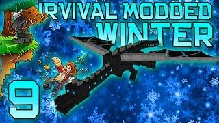 Minecraft: Modded Winter Survival Let