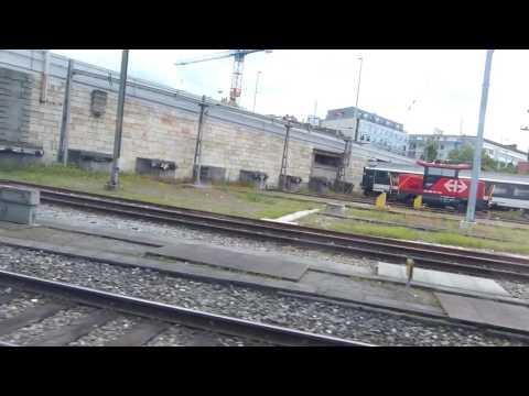 Paris To Zurich By TGV Train: Views Through The Window 24 May 2016