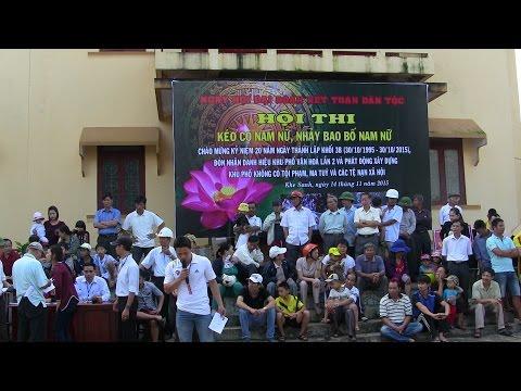 Lễ kỷ niệm 20 năm thành lập khối 3B Khe sanh Hướng hóa Quảng Trị