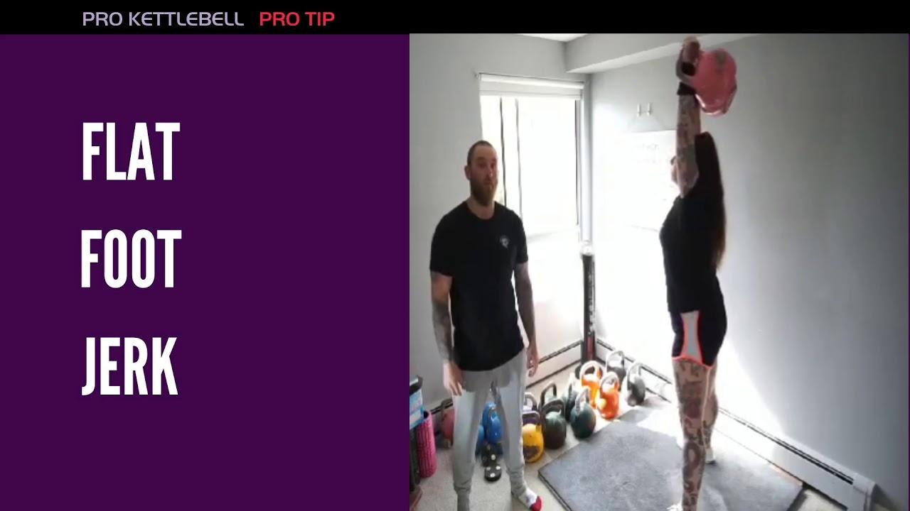 Kettlebell Jerk Pro Tip