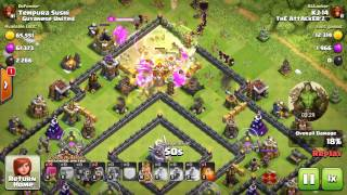 Clash of Clans: TH11 Raid Base Evolution Video 1