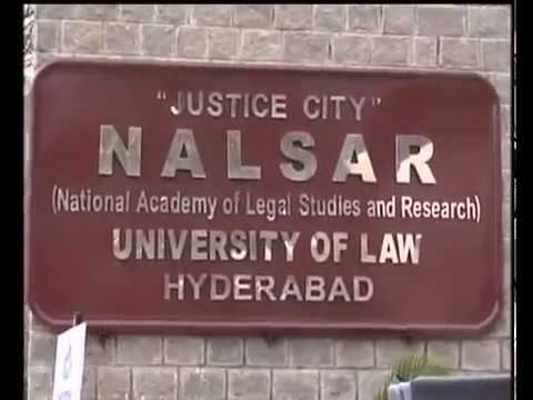 Nalsar University in Hyderabad
