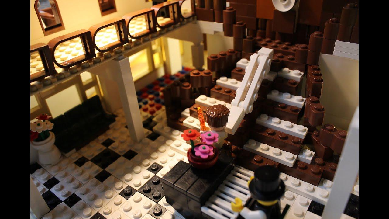 Lego Titanic D Deck Sinking YouTube