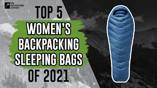 Top 5 Best Women's Bąckpacking Sleeping Bags of 2021