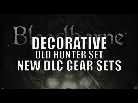Bloodborne The Old Hunters Decorative Hunter Gear Set Location Preview