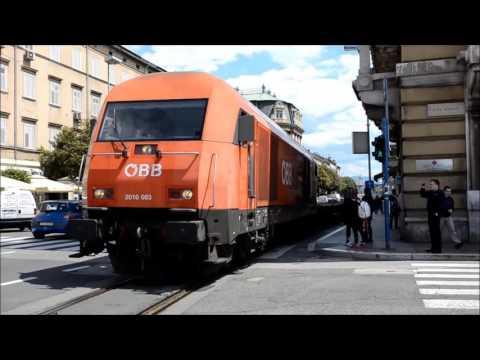 ÖBB 2016 083 street running in Rijeka