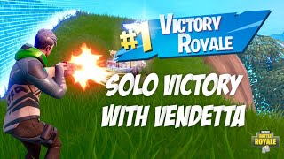 Fortnite HIGH KILL Solo Victory with Vendetta Skin!! Fortnite Battle Royale