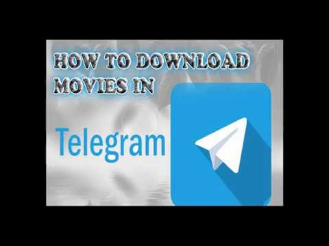 How to Download Movies in Telegram at One Click