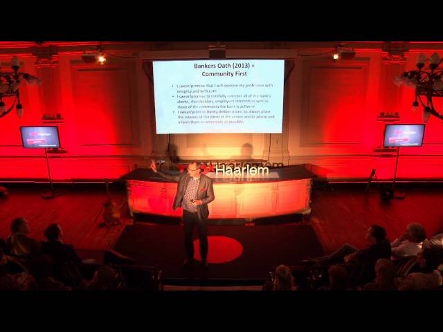 The power of the human standard: Jaap Peters at TEDxHaarlem