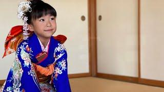 【こなつ7歳⭐︎はな3歳】七五三 神社にお詣り