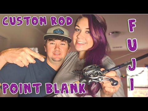Custom Rod Building! HOW TO! +Bank Fishing Footage Ft. Fuji And Point Blank
