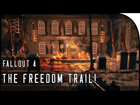 """Fallout 4 Gameplay Walkthrough Part 28 – """"THE FREEDOM TRAIL, SUICIDAL SUPER MUTANTS!"""""""