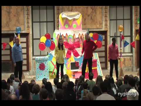 The Paper Bag Players - Hiccup Help - Happy Birthday Betty Surprise