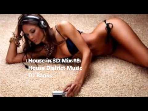 House in 3D mix #07 - mixed by DJ Banks(House District)