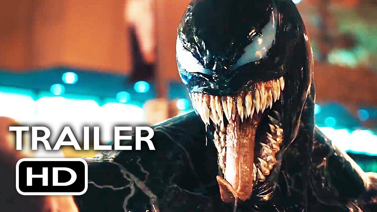 Venom Official Trailer #2 (2018) Tom Hardy Marvel Movie HD ...