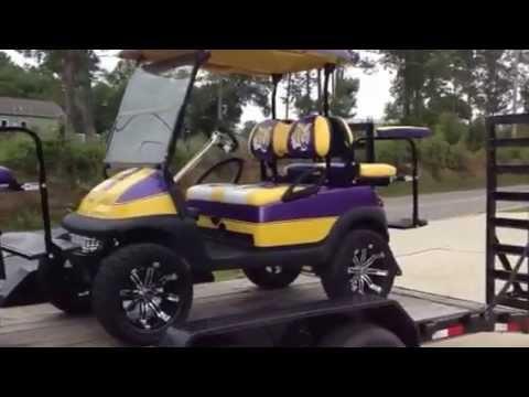 Lsu golf carts - YouTube Lsu Tiger Golf Cart on car cart, lsu texas a&m, lsu pants, lsu memes, lsu beanie, lsu dorms, lsu college football, lsu swimming, lsu men's soccer, lsu iphone wallpaper, lsu body paint, lsu wagon, lsu women's gymnastics, lsu men's basketball, lsu university, lsu sorority houses, lsu fire truck, lsu tool box,