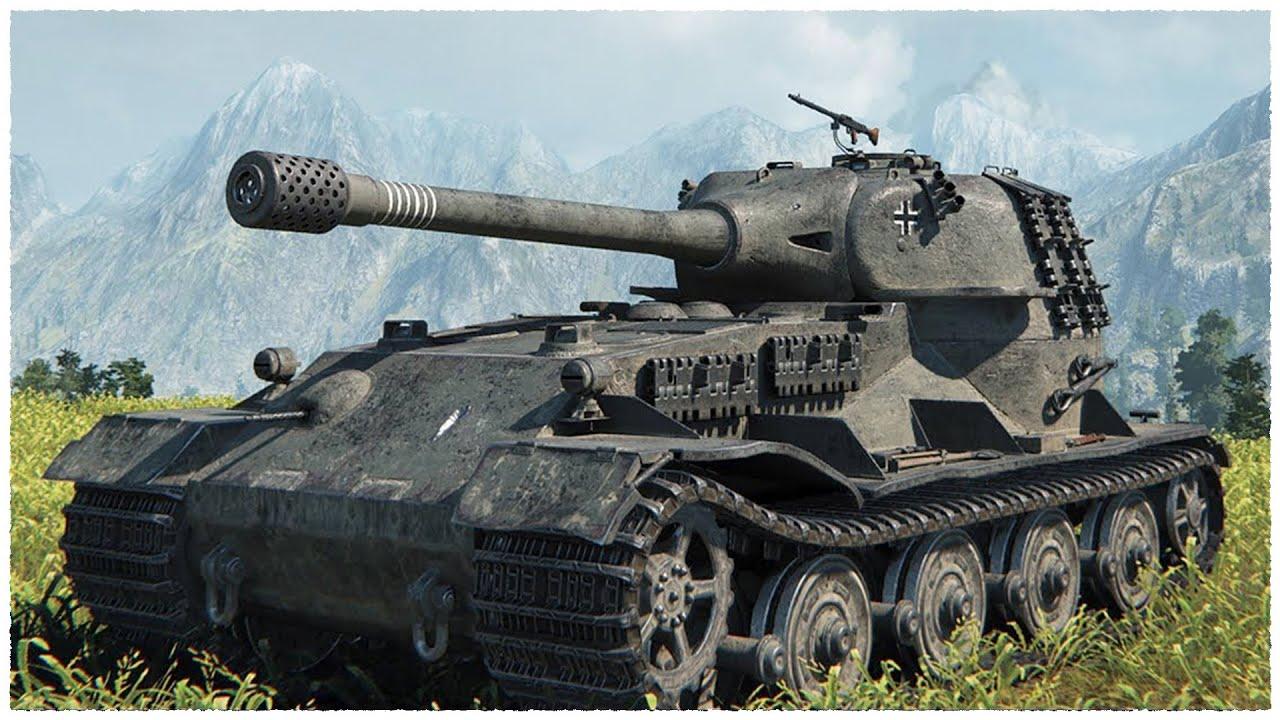 VK 72 01 (K) - 12K Damage - 7 5K Blocked - World of Tanks VK 72 01 (K)  Gameplay