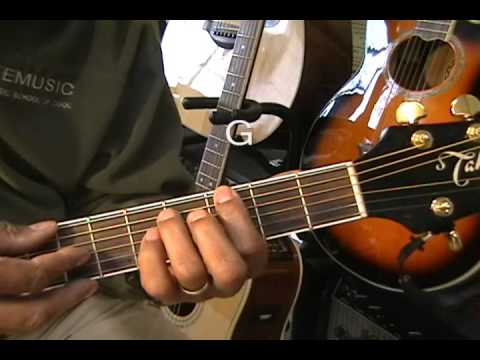Alex Clare Too Close How To Play Acoustic Guitar 5 Min Lesson EricBlackmonMusic