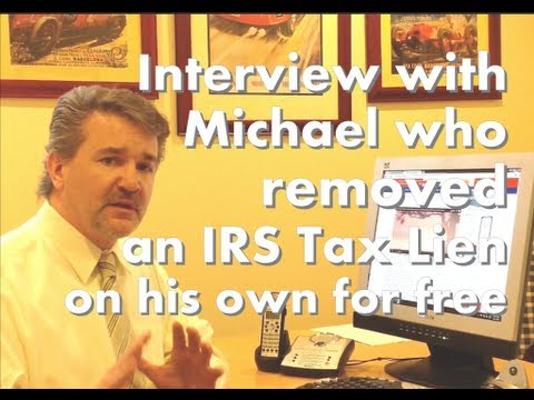 How to remove an IRS tax lien off your credit report. A first hand story of success.