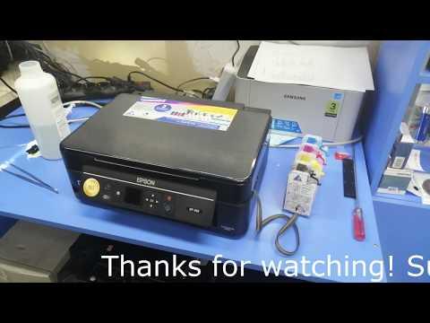 Инструкция чистка головки Epson XP-342/352/303/313/440
