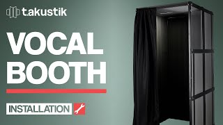 t.akustik - INSTALLATION - Vocal Booth