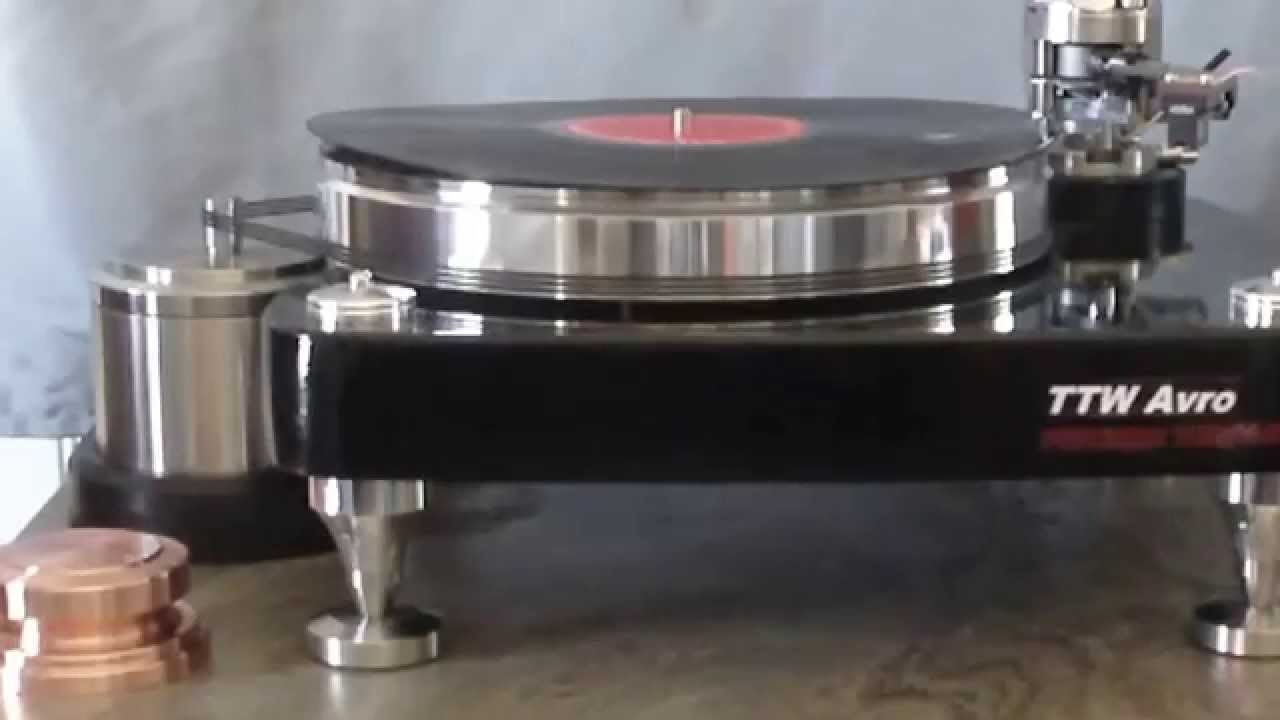 Outer Record Clamp Flatten And Improve The Sound Of Your