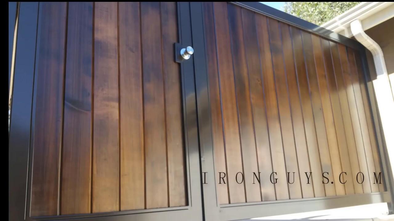 Wood Iron Fence
