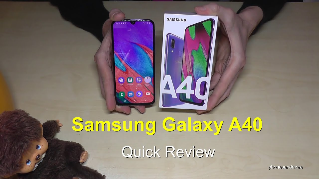 Samsung Galaxy A40: Quick Review (with specs and some features)
