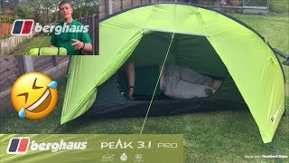 Berghaus peak 3.1 pro review 1 man TALL GUY!!Bear Wood