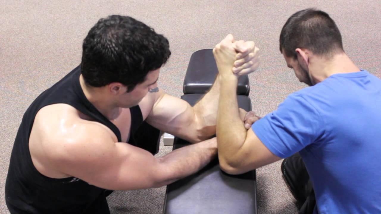 Arm wrestling technique. Arm wrestling tactics 21