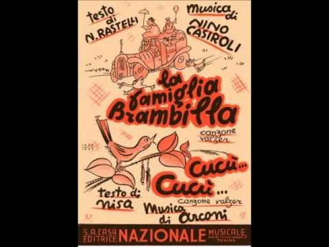 Lina Termini e Trio Lescano - Cucù... Cucù... (con testo)