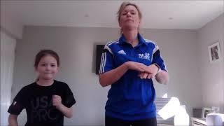 PASS HOME LEARNING  - AFTERNOON DANCE - SARAH - SUPERMAN