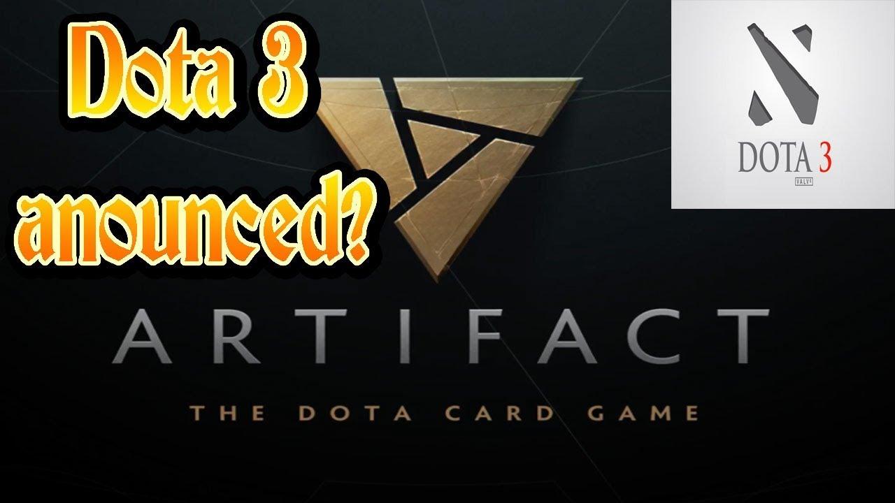 artifact new dota game dota 3 ti7 huge announcements youtube