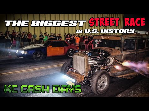 The Biggest STREET RACE in U.S. HISTORY!