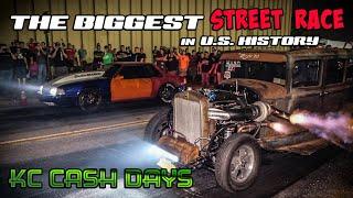 The Biggest STREET RACE in U.S. HISTORY!