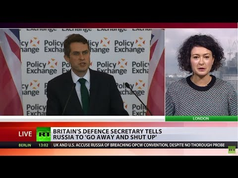 'Russia should go away & shut up' – UK Defence Secretary ami