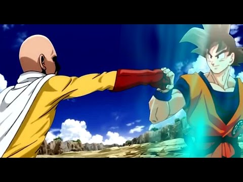 Goku God form vs Saitama - YouTube