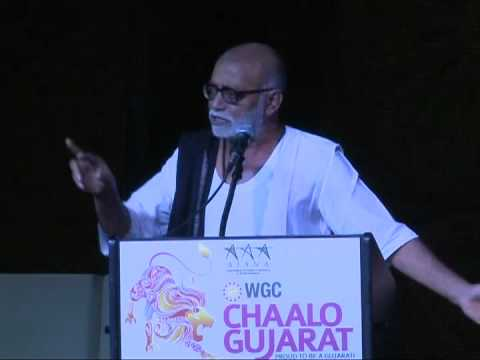 Shri Morari Bapu  Speech in Chaalo Gujarat New Jersey 2012 -