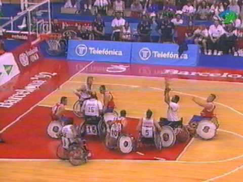 Paralympics 1992 Barcelona Usa vs Spain part 1