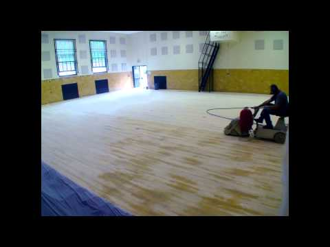 Allcourt Floor Restoration, Inc. West Valley Central School Summer 2014